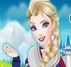 Roupas da Elsa no castelo