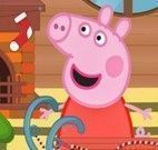 Peppa Pig decorar trenó