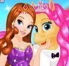 Pônei e princesa Moda