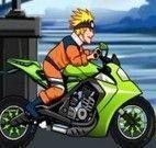 Naruto corrida de moto
