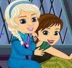 Elsa, Anna e mamãe