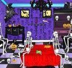Limpar sala de festa de halloween
