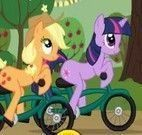 My Little Pony corrida de bike