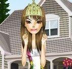 Vestir menina floral