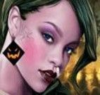 Maquiar Rihanna para festa de halloween