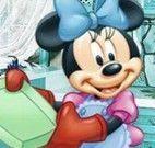 Pintar desenho da Minnie cozinheira