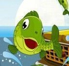 Salvar peixes das ruas