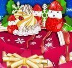 Preparar e decorar bolo de natal