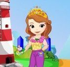 Princesa Sofia roupas para piquenique
