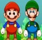 Mario e Luigi bomba