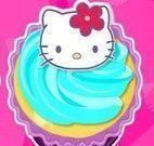 Fazer cupcakes da Hello Kitty