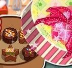Preparar caixa de chocolate para namorado