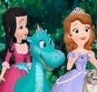 Princesa Sofia achar estrelas