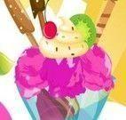 Dora preparar sorvete