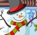 Limpar cenário de Natal na Neve