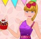 Vestir Barbie no aniversário