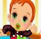 Arrumar o bebezinho com roupas bonitas