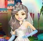 Princesa vestido de noiva