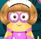 Vestir menina Minion