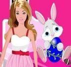 Barbie decorar quarto da Páscoa