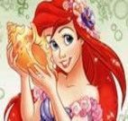 Colorir princesa Ariel