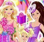 Vestir Barbie e irmãs festa de aniversário