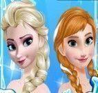 Anna e Elsa Frozen vestir