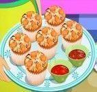 Fazer cupcakes de pizza