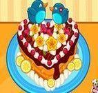 Decoração do bolo de festa