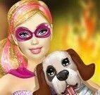 Super Barbie salvar cachorro