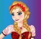 Vestir Elsa dia dos namorados