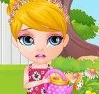 Barbie alergia das flores
