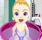Bebê no banho