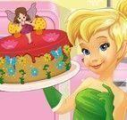 Fada Sininho receita de bolo