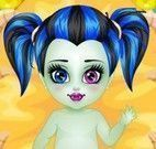 Cuidar da Frankie bebê Monster High