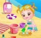 Bebê na praia