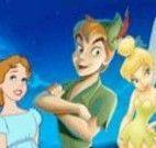 Colorir imagem do Peter Pan e amigos