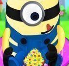 Cupcakes do aniversário dos Minions