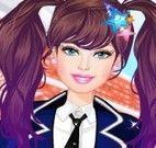 Barbie moda estudante