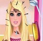 Barbie grávida no banho