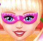 Super Barbie mãos machucadas