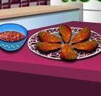Nuggets de frango receita da Sara