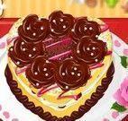 Receita de bolo de chocolate namorado