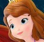 Quebra cabeça da princesa Sofia e sereia