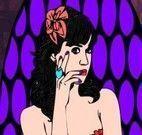 Colorir desenho da Katy Perry