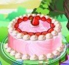 Fazer bolo sabor morango