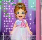Bebê roupas dama de honra