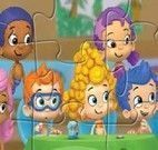 Quebra cabeca bubble guppies