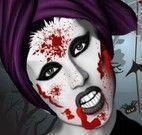 Lady Gaga maquiagem de vampira