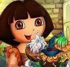 Dora cupcakes de Halloween